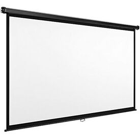 "90"" Projector sreens, brand new in the box RRP £129 our price just £30"