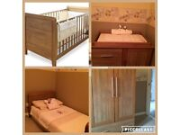 4 piece nursery furniture