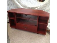 TV corner unit - excellent condition.