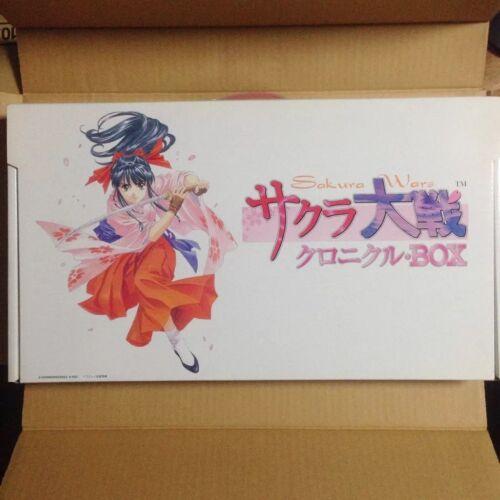 Sakura Taisen Chronicle BOX Anime Japan Excellent Rare