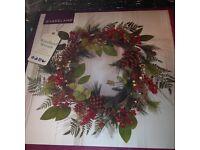 New - 60cm Christmas/Woodland Wreath