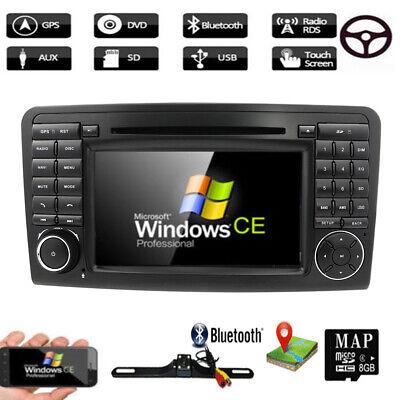 "Für Mercedes BENZ W164 X164 GL320 ML350 7"" NAVI Autoradio mit BT GPS DVD DAB+ CD"
