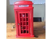 Vintage novelty telephone box