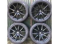 22 inch alloy wheels tyres vw Transporter T5 T6 Range Rover Sport bmw X5 Land Discovery