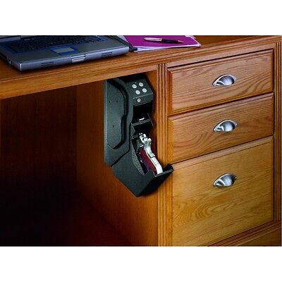 NEW Speed Vault Digital Keypad Quick Access Pistol Safe.Hide Under Desk.Protect