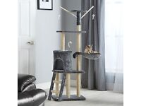 Large Cat Activity Centre Scratching Post Toy Bed Kitten Scratcher Tree Large Tower