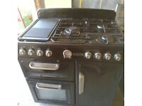 Black range cooker