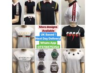 2 for £70! Fendi Tshirts Gucci Designer Clothing Givenchy Tops Moncler T-Shirts london Uk Cheap