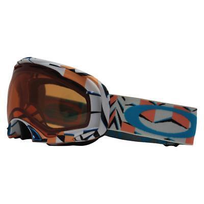 8163f42363f Oakley 57-374 SPLICE Cubism Orange w  Persimmon Lens Mens Snow Board Ski  Goggles