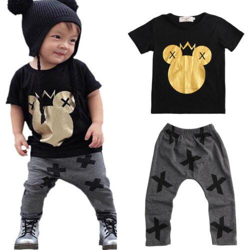 shirt pyjama junge strampler baby schreiben print kleider outfits kurzarm t