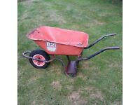 WHEEL BARROW WITH TIPPING SCOOP, SUPER BARROW
