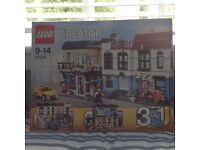 LEGO Creator Bike Shop & Cafe 3 in 1 , new and unopened in box, cost £82.