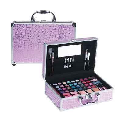 Cosmetic Beauty Make-Up Alu Koffer Kinder Schminkset Schminkkoffer Set