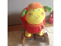 Mamas and papas ladybird rocker