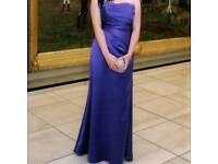 Purple prom dress for sale size 12