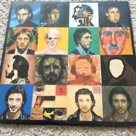 "The Who 12"" record/album/llp"