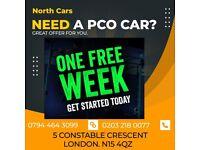 ** £90 PER WEEK ** / PCO Car Rent/ PCO Car Hire / Rent / Uber / Toyota Prius [NORTH LONDON OFFICE]