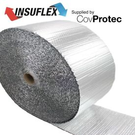 Reflective Foil Insulation Loft / Wall / Home / Shed/ Camper /Van 18m2 0.36mx50m
