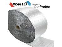 Reflective Foil Insulation Loft / Wall / Home / Shed/ Camper /Van 18m2 0.36mx50m