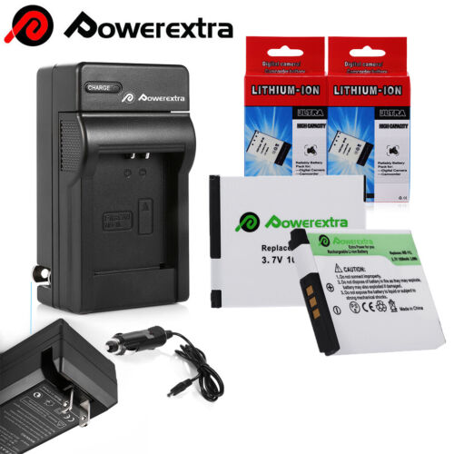 NB-11L Battery for Canon PowerShot SX410 SX400 IS ELPH 320 340 / Car Wall Charg