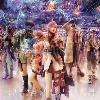 FINAL FANTASY XIII 13 Original Soundtrack - PLUS CD Music MIYA Records