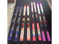 Ski's sale 170 cm and 185 cm