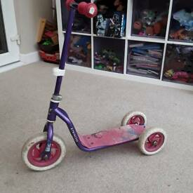 Disney Princess three wheel scooter