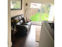 Large double bedroom to rent in 2 bedroom maisonette with private entrance and garden