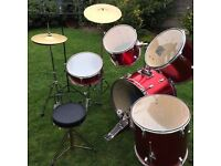 BERKELEY FULL DRUM KIT .