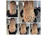 Hair extensions micro rings nano rings keratin bonds tape extensions mini locks