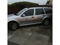 Vw golf 1.9tdi s silver estate 6 speed box 10months mot really good car has few extras with it