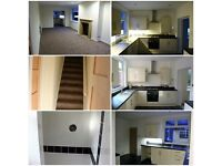 Spacious 3 bedroom end terrace with private parking for several vehicles in quiet location
