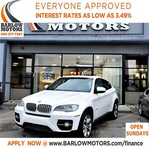 2011 BMW X6 xDrive50i*EVERYONE APPROVED* APPLY NOW DRIVE NOW.