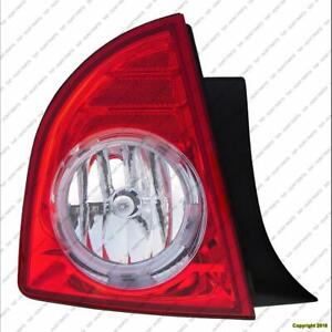 Tail Light Driver Side Ltz High Quality Chevrolet Malibu 2008-2012