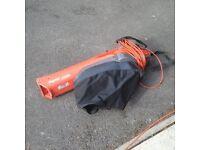 Leaf blower garden vacuum - Flymo 1500