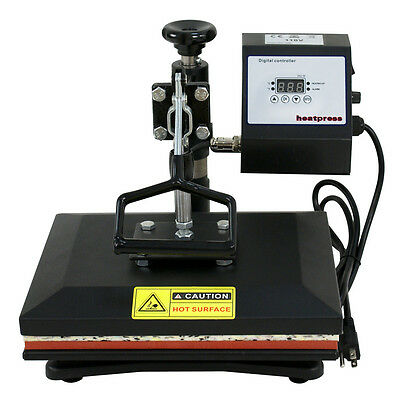 "New 12""x10"" T-shirt Rouse Press Transfer Printing Machine Digital Print Set"