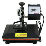 "12""x10"" Digital Heat Press Machine T-Shirt Sublimation 360 Swing Away Transfer"