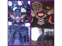 Kids hockey under armour