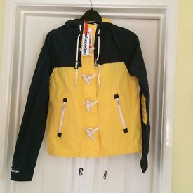 XS Superdry jacket with hoodRRP£84.99 bnwt