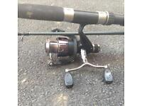 9ft Quiver Rod and Reel Course Trout Float £20