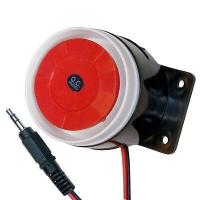 Alarm-sirene (Piezo-Sirene 12V 120dB Signalgeber Alarmsirene Alarmmelder)