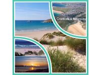 HOLIDAY STATIC CARAVAN NEWQUAY CORNWALL 4-6 BERTH SCENIC VILLAGE/BEACH/TOWN LOCATION LOTS TO SEE/DO