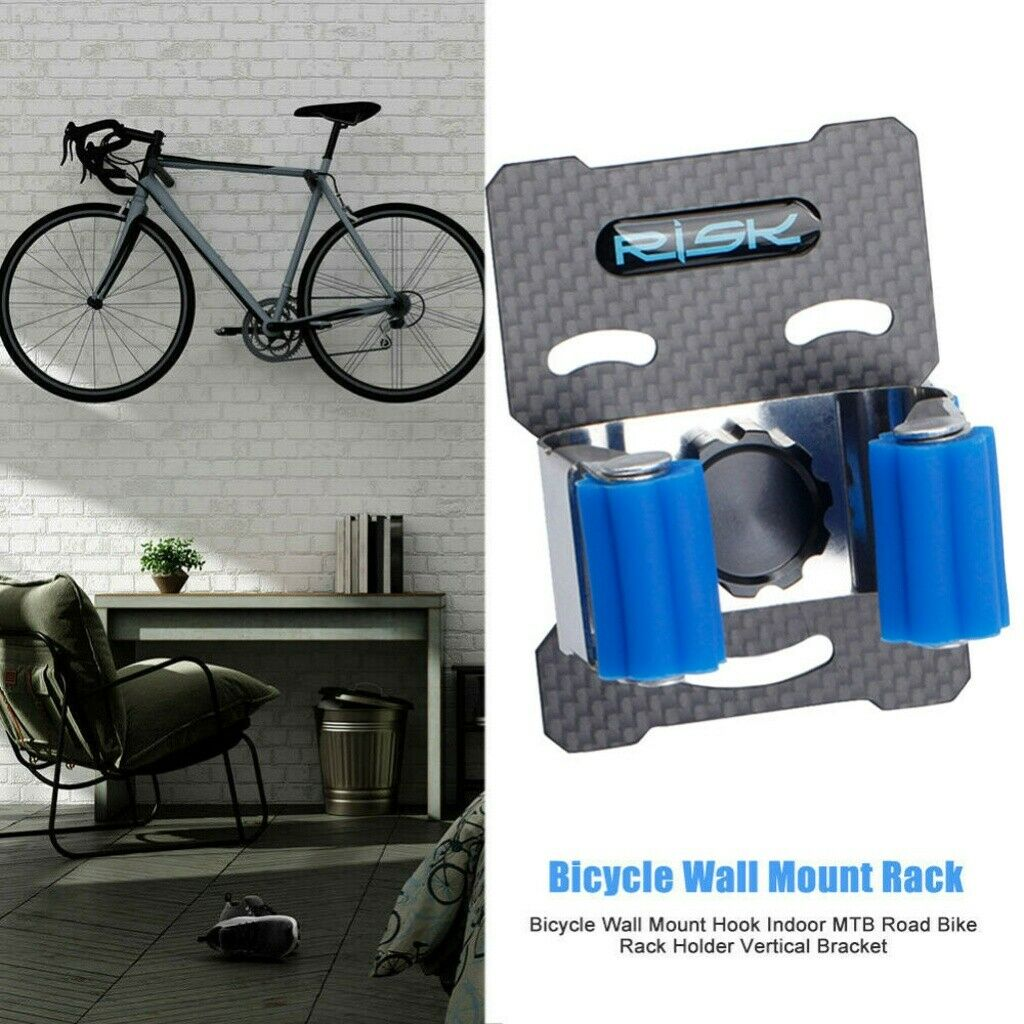 Bicycle Wall Mount Hook Indoor MTB Road Bike Hanger Rack Holder Vertical Bracket