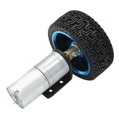 Motor eléctrico DC Reductor de caja de cambios DC con rueda para...