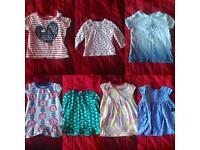 JOB LOT 9-12 month baby girls clothing