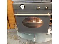 Algor gas job and fan assist electric oven