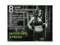 8 WEEK TRANSFORMATION PROGRAM