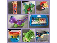 Toddler Toys!!! Including pram & Peppa pig bubble machine