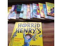 Horrid Henry 14 books