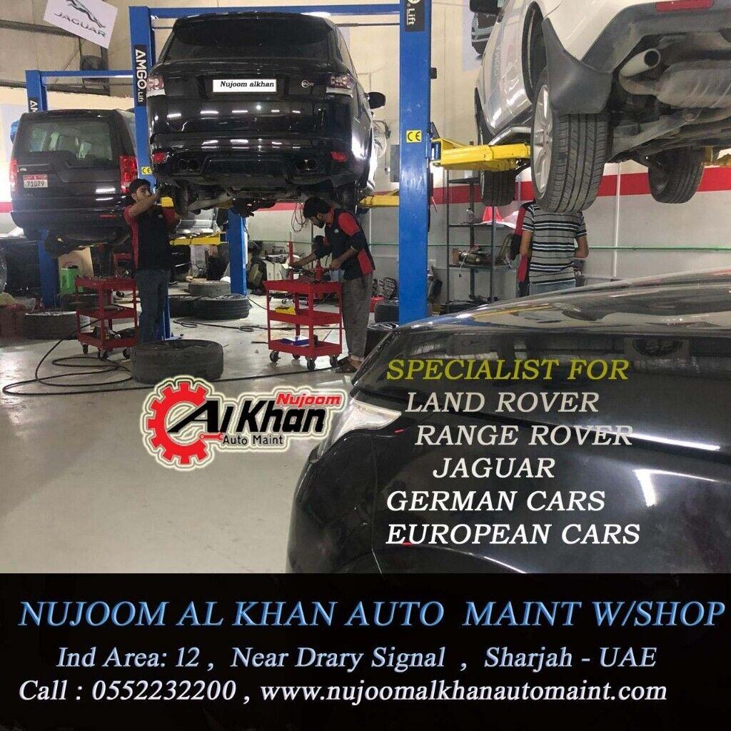Nujoom alkhan range rover workshop uae | in Richmond, London | Gumtree